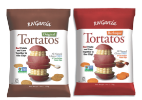 Innovative RW Garcia Revolutionizes Snack Aisles with One-of-a-kind Tortatos