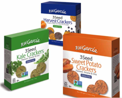 Vegetable-based Snacking Meets Delicious Flavor in New RW Garcia 3 Seed Gluten Free Crackers